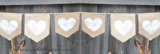 love hearts clothesline