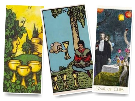 The Tarot; The Four of Cups - new insight and meaning