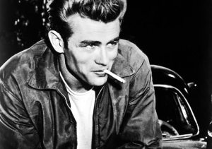 James Dean - the ultimate rebellious, sexy, magnetic bad boy